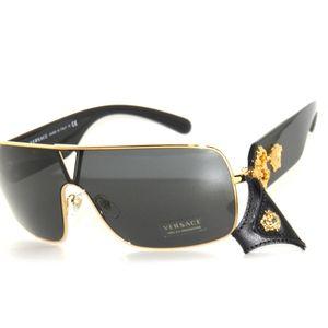 1760c3abac2 Versace Accessories - Versace 2207Q 1002 87 Black Gold Sunglasses